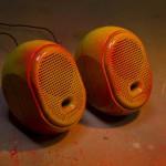 gerecycelde speakers